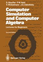 Computer Simulation and Computer Algebra