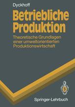 Betriebliche Produktion