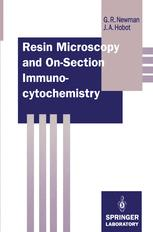 Resin Microscopy and On-Section Immunocytochemistry