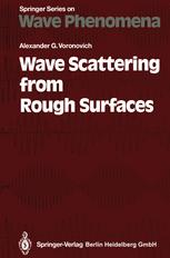 Wave Scattering from Rough Surfaces