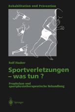 Sportverletzungen — was tun?