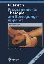 Programmierte Therapie am Bewegungsapparat