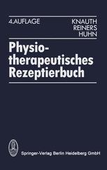 Physiotherapeutisches Rezeptierbuch