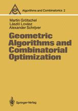 Geometric Algorithms and Combinatorial Optimization