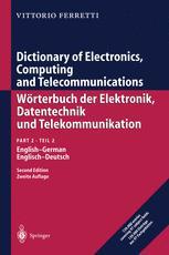 Dictionary of Electronics, Computing and Telecommunications/Wörterbuch der Elektronik, Datentechnik und Telekommunikation