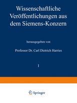Wissenschaftliche Veröffentlichungen aus dem Siemens-Konzern