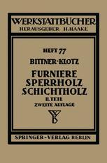 Furniere — Sperrholz Schichtholz