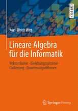 Lineare Algebra für die Informatik