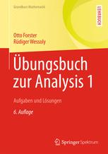 Übungsbuch zur Analysis 1