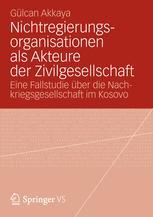 Nichtregierungsorganisationen als Akteure der Zivilgesellschaft