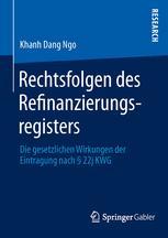 Rechtsfolgen des Refinanzierungsregisters