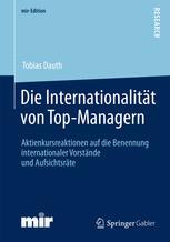 Die Internationalität von Top-Managern