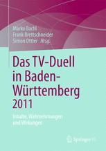 Das TV-Duell in Baden-Württemberg 2011