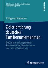 Zielorientierung deutscher Familienunternehmen