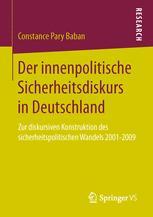 Der innenpolitische Sicherheitsdiskurs in Deutschland