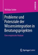 Probleme und Potenziale der Wissensintegration in Beratungsprojekten
