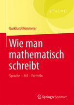 Wie man mathematisch schreibt