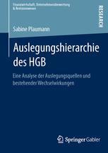 Auslegungshierarchie des HGB