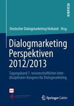 Dialogmarketing Perspektiven 2012/2013