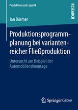 Produktionsprogrammplanung bei variantenreicher Fließproduktion