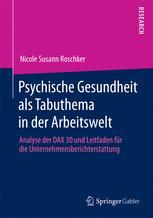 Psychische Gesundheit als Tabuthema in der Arbeitswelt