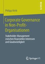 Corporate Governance in Non-Profit-Organisationen