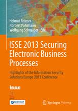 ISSE 2013 Securing Electronic Business Processes