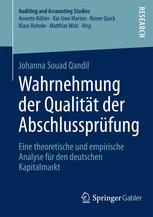 Wahrnehmung der Qualität der Abschlussprüfung