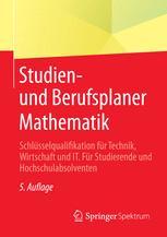 Studien- und Berufsplaner Mathematik