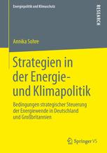 Strategien in der Energie- und Klimapolitik