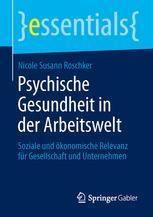 Psychische Gesundheit in der Arbeitswelt
