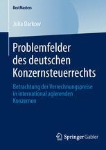 Problemfelder des deutschen Konzernsteuerrechts
