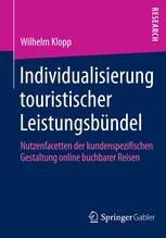 Individualisierung touristischer Leistungsbündel