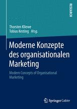 Moderne Konzepte des organisationalen Marketing