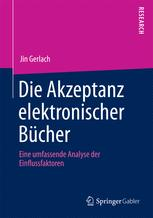 Die Akzeptanz elektronischer Bücher