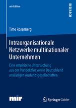 Intraorganisationale Netzwerke multinationaler Unternehmen
