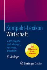 Kompakt-Lexikon Wirtschaft