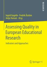 Assessing Quality in European Educational Research
