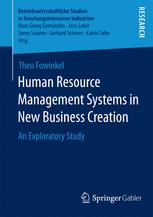 Human Resource Management Systems in New Business Creation