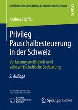 Privileg Pauschalbesteuerung in der Schweiz