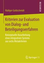 Kriterien zur Evaluation von Dialog- und Beteiligungsverfahren