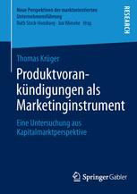 Produktvorankündigungen als Marketinginstrument