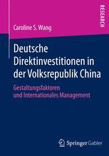 Deutsche Direktinvestitionen in der Volksrepublik China