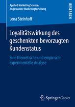 Loyalitätswirkung des geschenkten bevorzugten Kundenstatus