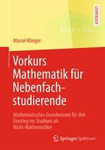 Vorkurs Mathematik für Nebenfachstudierende