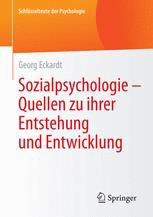 Sozialpsychologie – Quellen  zu ihrer Entstehung und Entwicklung