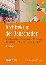 Architektur der Bauschäden