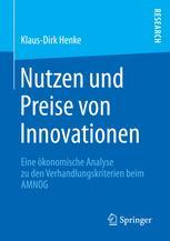 Nutzen und Preise von Innovationen
