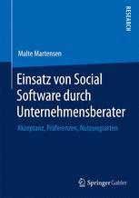 Einsatz von Social Software durch Unternehmensberater
