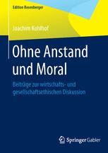 Ohne Anstand und Moral